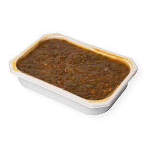 Comida casera - Lentejas vegetarianas