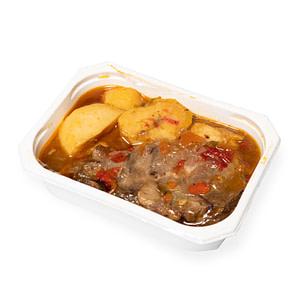 Comida casera - Carne asada con patata