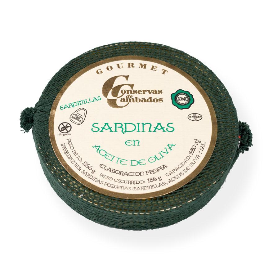 Conservas - Conservas de Cambados sardinas 30:40 piezas