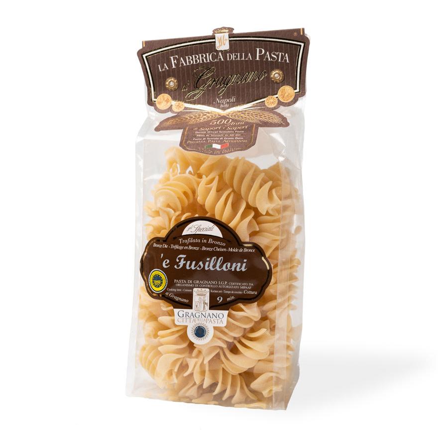 Pasta Italiana - Gragnano - Fusilloni 250gr