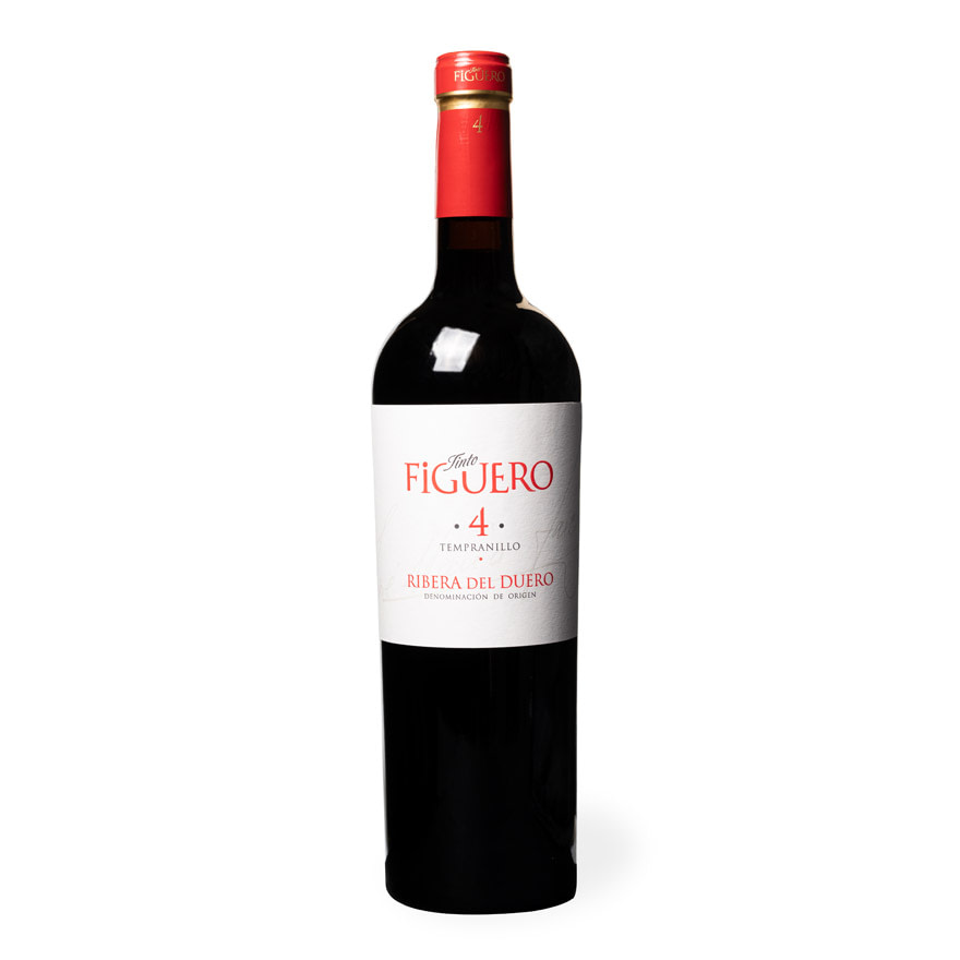 Vino - Ribera del Duero - Tinto Figuero 4 tempranillo