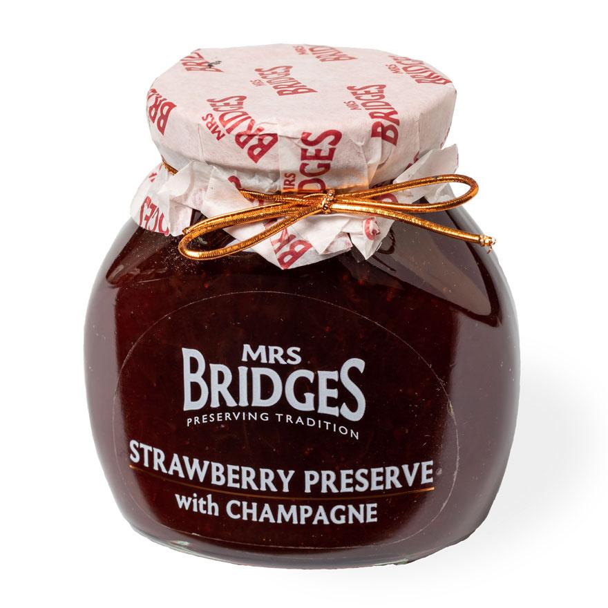 Mermelada artesana - Mr Bridge - Fresas con Champagne