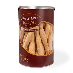 Pan tostado - Panaderia Jesús - bote canas de pan feo