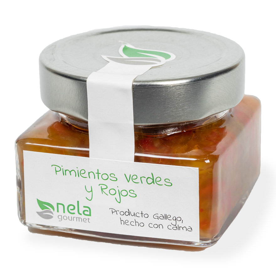 Mermelada Artesanal - Mermelada Nela, pimientos rojos y verdes