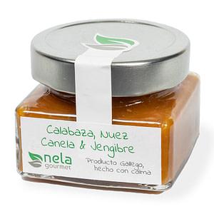 Mermelada Artesanal - Mermelada Nela, calabaza, nuez, canela y jengibre