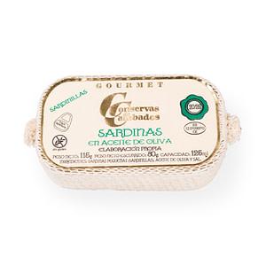Conservas - Conservas de Cambados sardinas 20:25 piezas