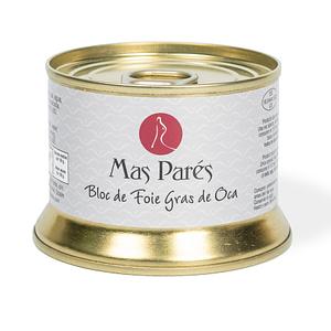 Paté - Más Parés bloc de foie gras de oca