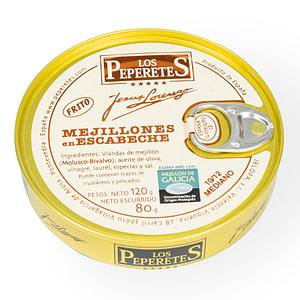 Mejillones en escabeche - Los Peperetes