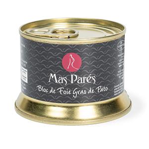 Paté - Más Parés bloc de foie gras de pato