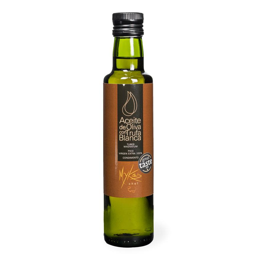 Aceite de oliva con trufa blanca - Mykés